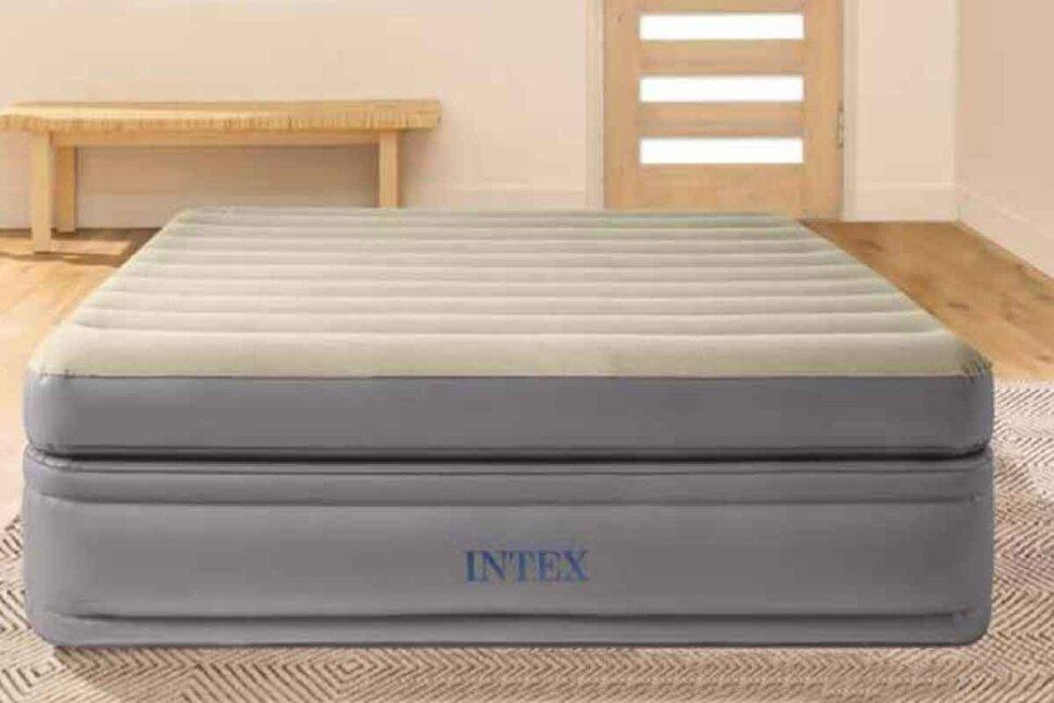 Полуторная надувная кровать INTEX 64164 в Барнауле