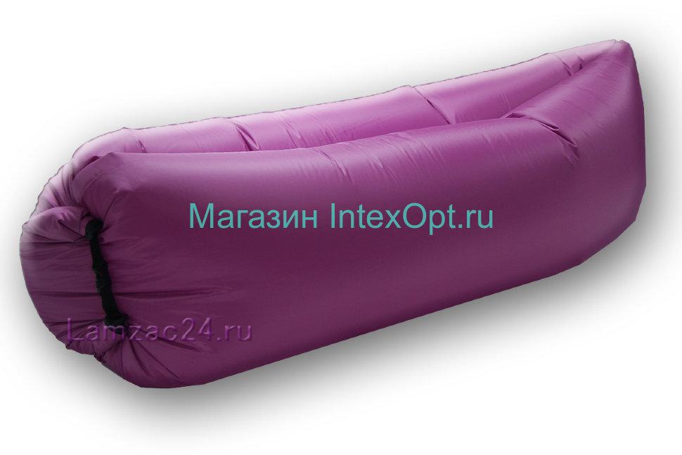 Надувной диван ламзак (лиловый) в Оренбурге