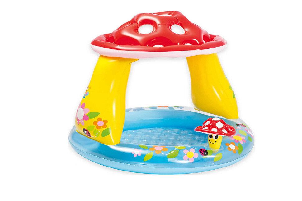 """Надувной детский бассейн """"Гриб"""" INTEX 57114(поврежденная коробка) в Тюмени"""