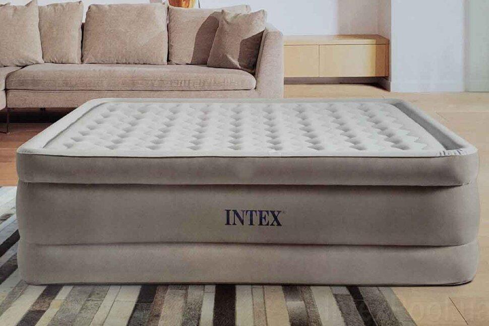 Полуторная надувная кровать INTEX 64428 в Тюмени