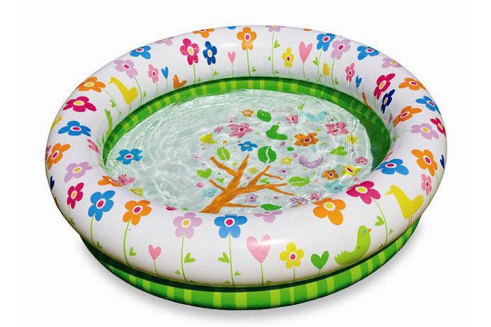 Детский надувной бассейн с цветочками INTEX 57427 В Красноярске