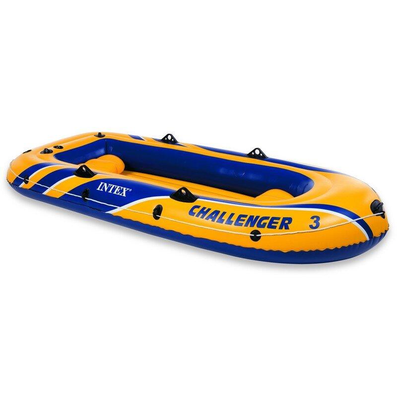 Лодка надувная трехместная INTEX Challenger-3 68369 в Кемерово