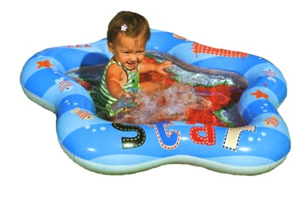 """Надувной бассейн для малышей """"Морская звезда"""" INTEX 59405 в Барнауле"""