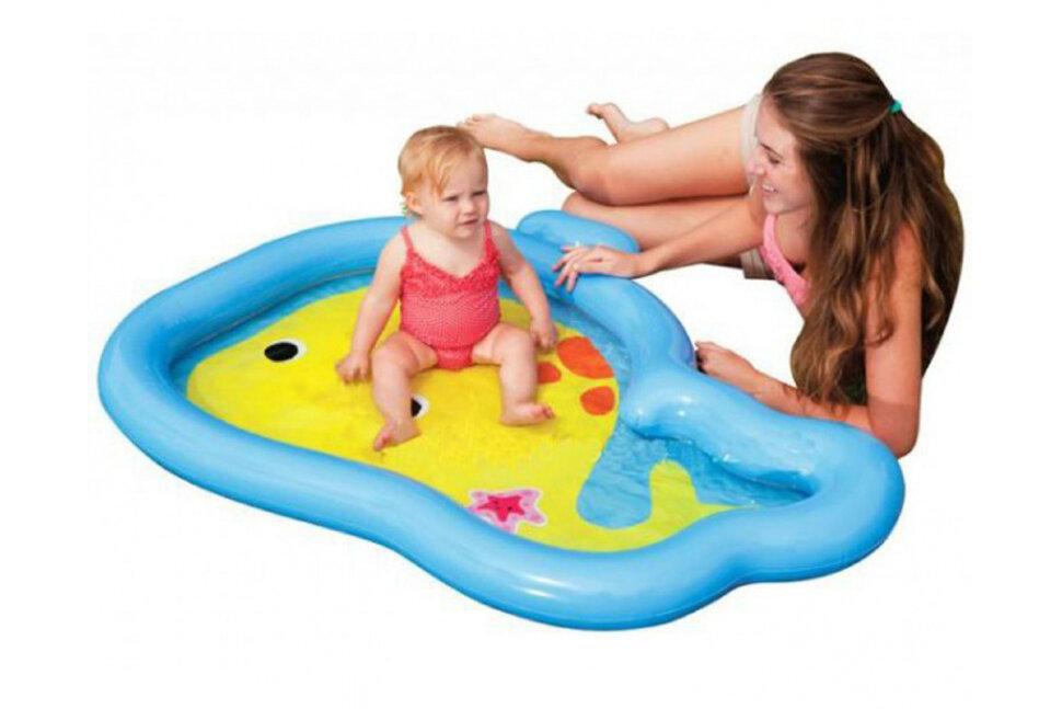 """Надувной бассейн для малышей """"Китенок"""" INTEX 59408 в Барнауле"""