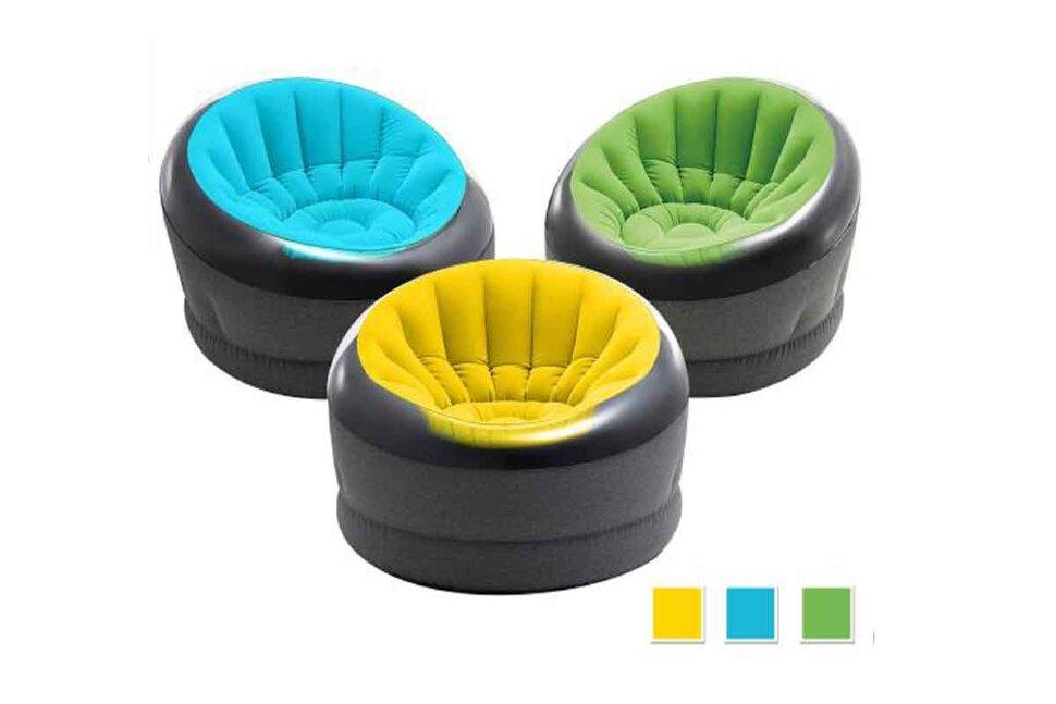 """Надувное кресло """"Empire Chair"""" INTEX 66582 в Москве"""