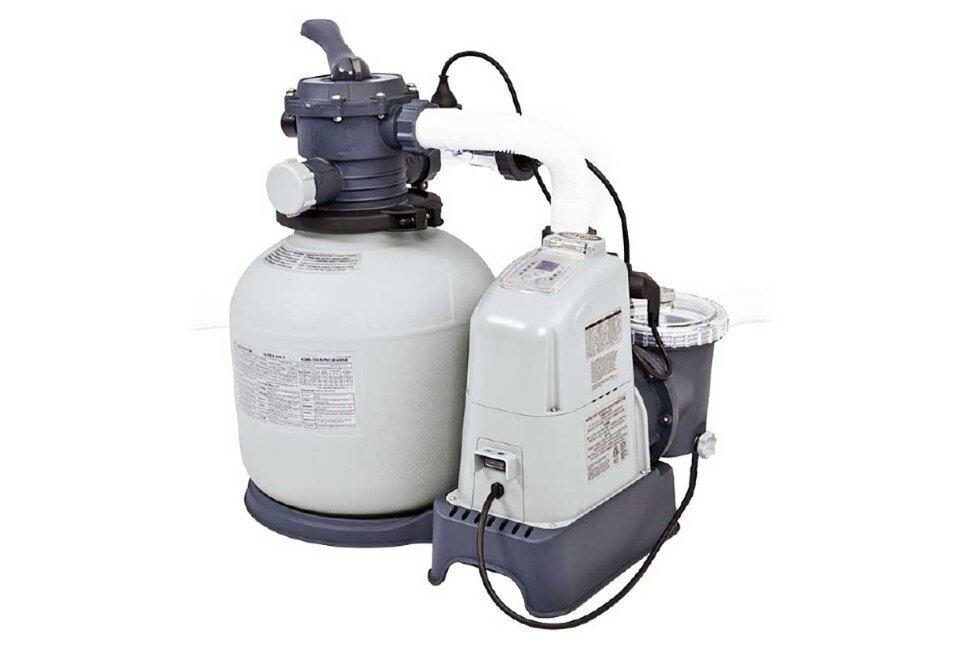 Песочный фильтр-насос комбинированный с хлоргенератором INTEX 28676 в Клину