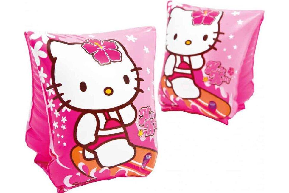 """Нарукавники """"Hello Kitty"""" INTEX 56656 в Кемерово"""