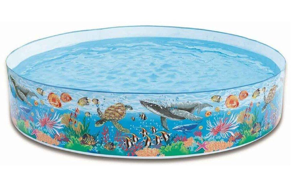 Жесткий пластиковый бассейн INTEX 58472 в Клину