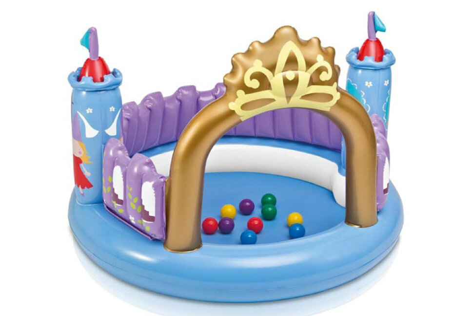 """Детский сухой бассейн """"Волшебный замок"""" INTEX 48669 в Оренбурге"""