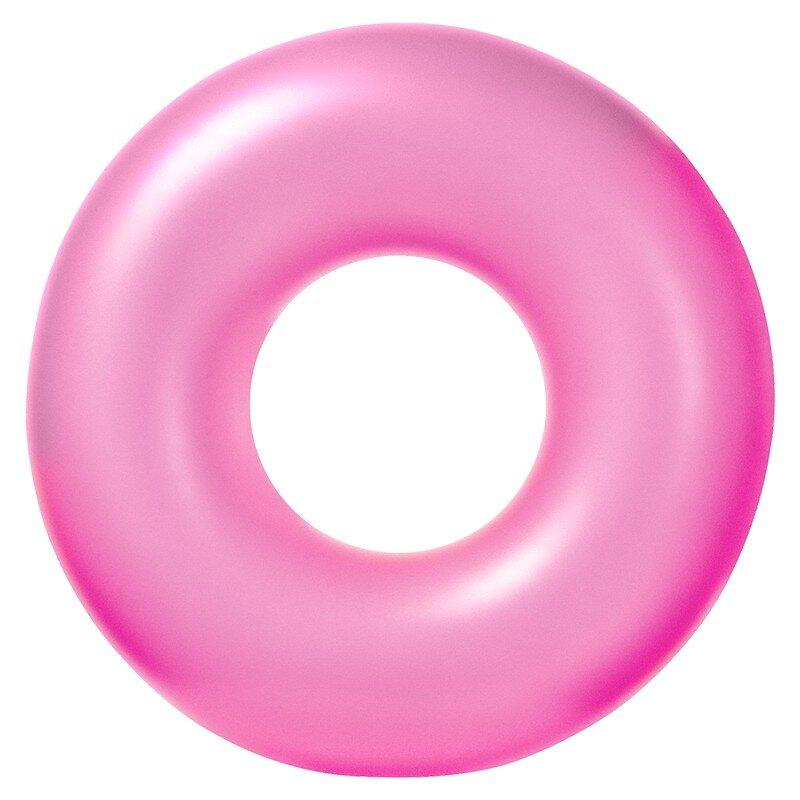 Плавательный круг для бассейна INTEX 59262 Pink NEON в Москве