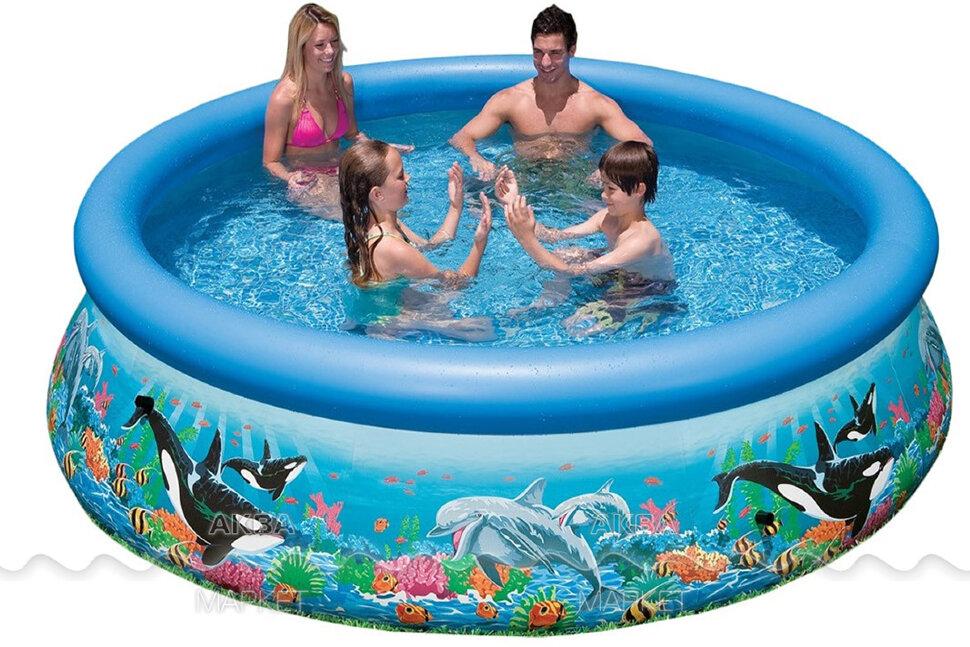 Надувной бассейн INTEX Easy Set 28124 в Перми