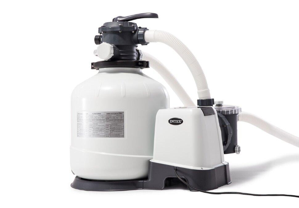 Песочный фильтр-насос комбинированный с хлоргенератором INTEX 26676 в Смоленске