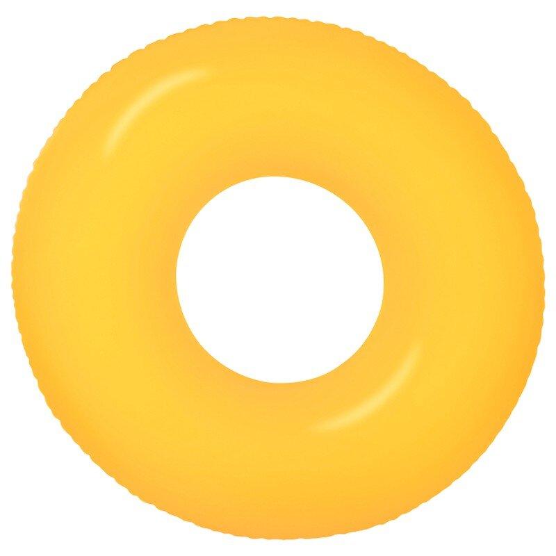 Плавательный круг для бассейна INTEX 59262 Orange NEON в Кемерово