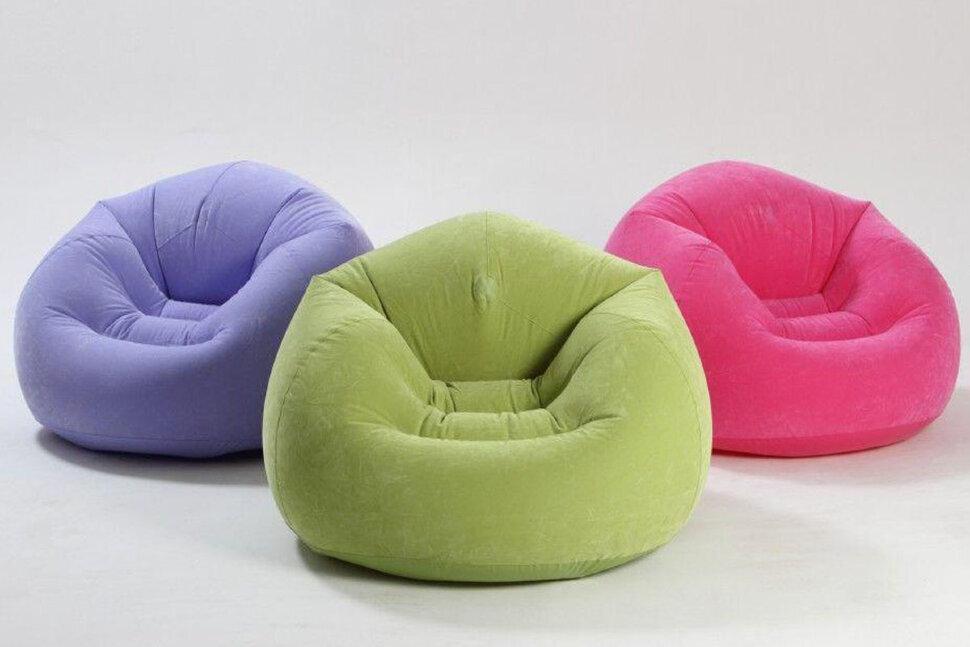 Надувное кресло INTEX 68569(поврежденная кпаковка)
