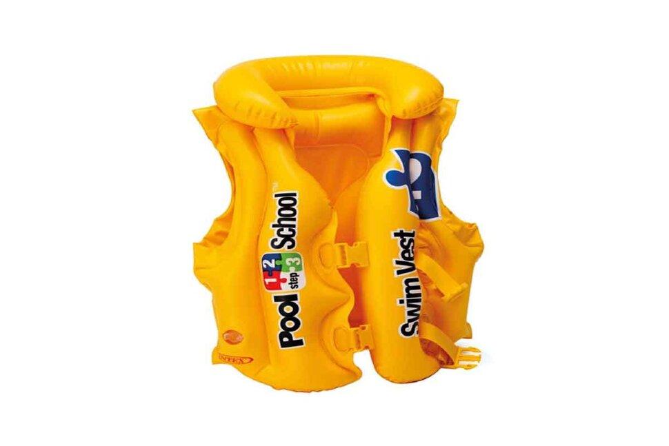 Надувной жилет для плавания INTEX 58660 в Тюмени
