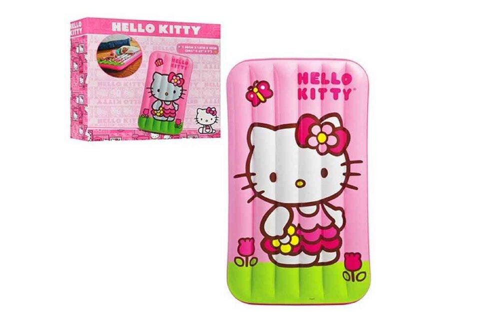 """Пляжный надувной матрас """"Hello Kitty"""" INTEX 48775 в Смоленске"""