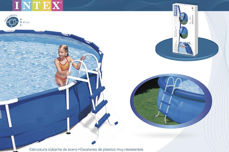 Лестница для бассейна INTEX 28060 в Тюмени