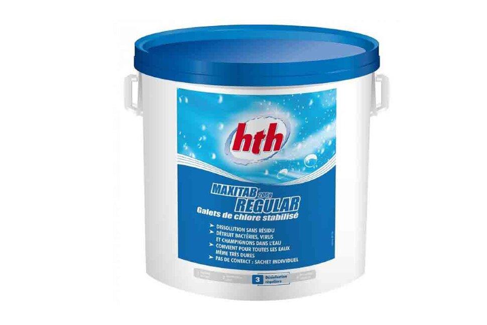 С800506Н8 HTH, медленный стабилизированный хлор MAXITAB REGULAR в таблетках, 25кг. в Новосибирске