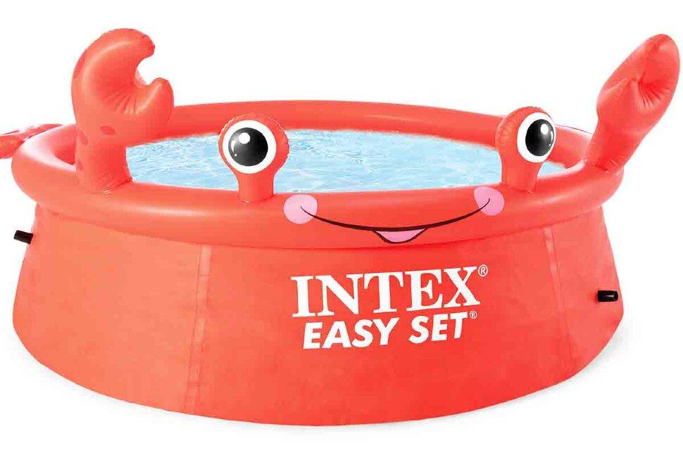 Детский надувной бассейн INTEX 26100 Краб в Кемерово