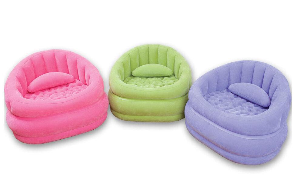 Детское надувное кресло INTEX 68563(поврежденная упаковка) в Санкт-Петербурге