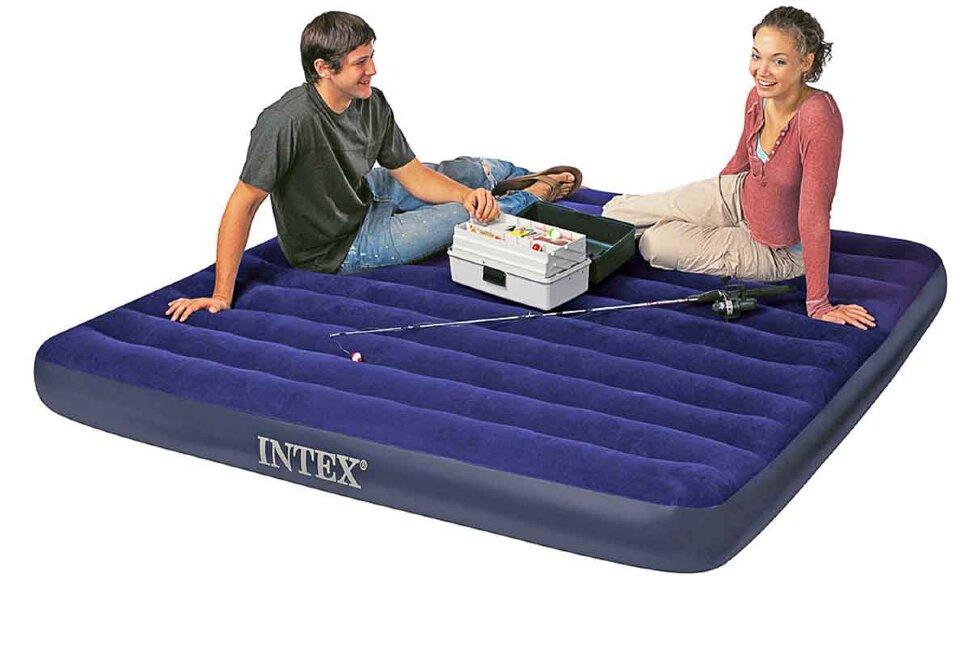 Надувной матрас двуспальный INTEX 68755 в Туле
