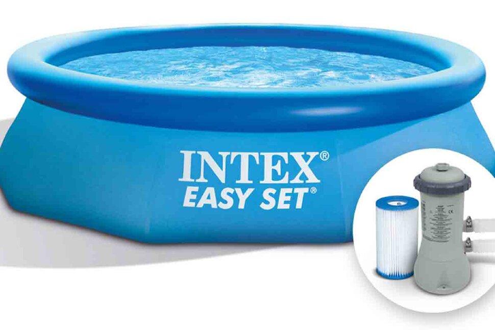 Надувной бассейн INTEX Easy Set 28118 в Оренбурге