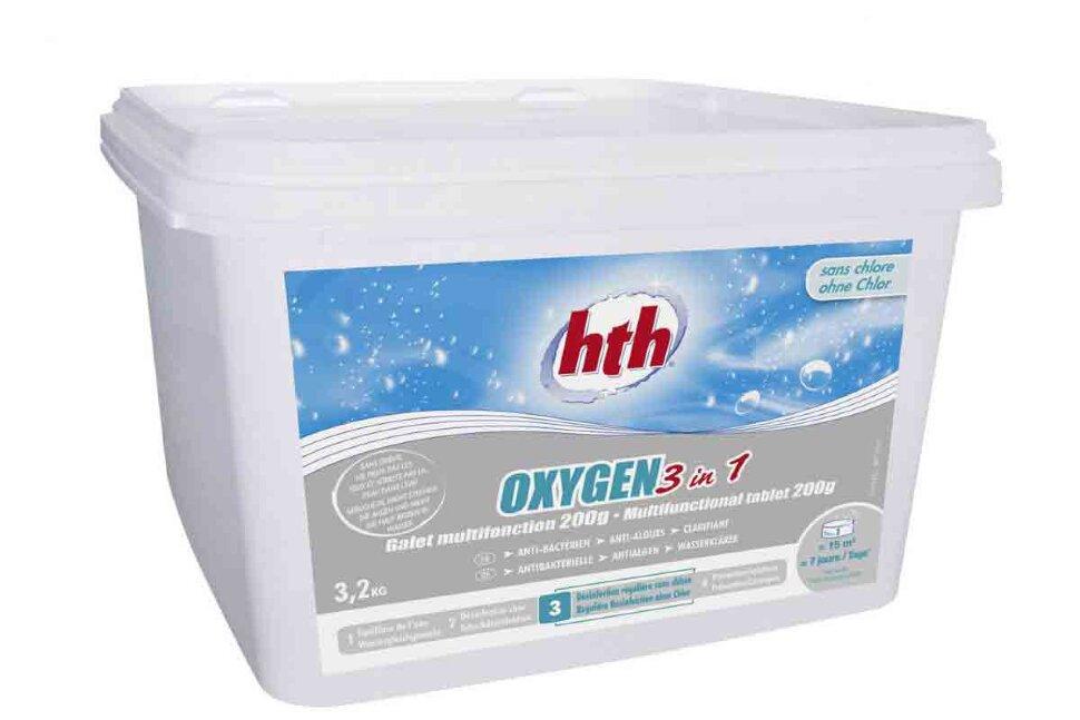 D800260H2 HTH, многофункциональные таблетки активного кислорода 3 в 1 OXYGEN в таблетках по 200 гр. в Нижнем Новгороде
