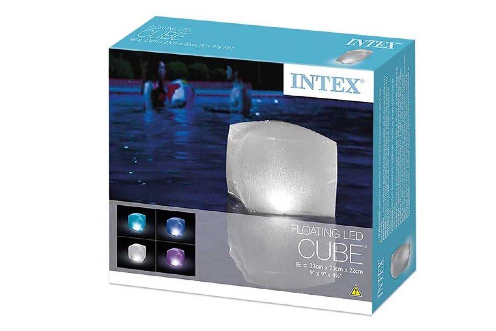 Плавающий куб подсветка для бассейна INTEX 28694 в Москве