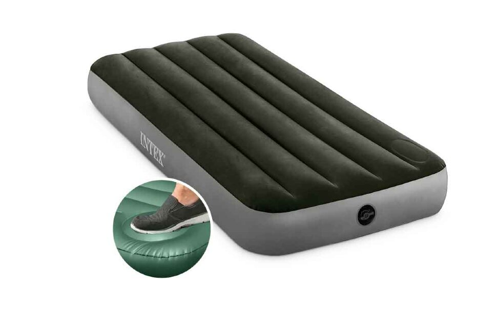 Односпальный надувной матрас INTEX 64760(поврежденная упаковка) в Смоленске
