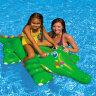 Надувной крокодил для плавания